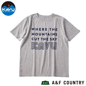 カブー KAVU カットアバウブTシャツ グレー|aandfshop