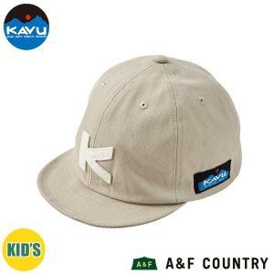 カブー KAVU キッズ ベースボールキャップ サンドベージュ 帽子 キャップ 子供用 aandfshop