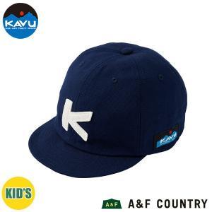 カブー KAVU キッズ ベースボールキャップ ネイビー 帽子 キャップ 子供用 aandfshop