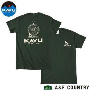 カブー KAVU メンズ ドリームキャッチャー Tシャツ フォレスト|aandfshop