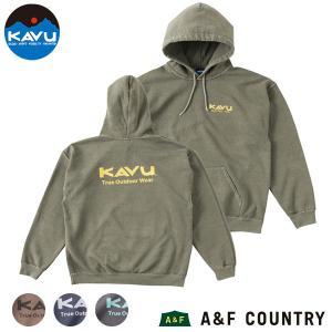 カブー メンズ ザアウトドアウェアパーカー KAVU|aandfshop