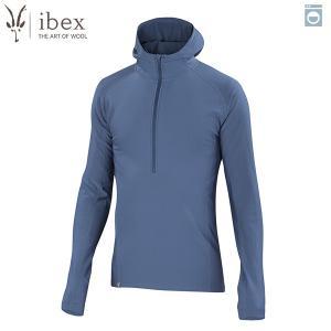 アイベックス ibex Ms ウーリーズ3フーディ バルティック ウール 送料無料|aandfshop