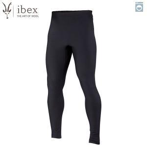 アイベックス ibex Ms ウーリーズ 3ボトム ブラック ウール 送料無料|aandfshop