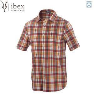 アイベックス ibex Ms トリップシャツ ファームハウスプラッド ウール  送料無料|aandfshop