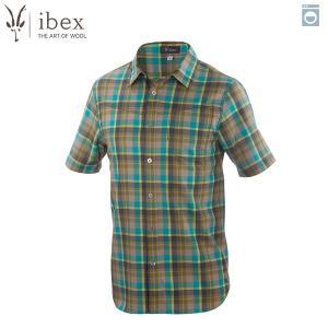 アイベックス ibex Ms トリップシャツ エバーグレードプラッド ウール 送料無料|aandfshop