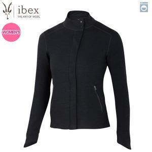 アイベックス ibex Ws イジーフルジップ ブラック 女性用 ウール 送料無料|aandfshop