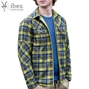 アイベックス ibex Ms ウールエアシャツジャケット ピートモス ウール 送料無料 SALE|aandfshop