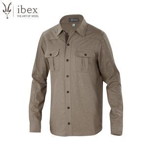 アイベックス ibex Ms ノーススターシャツ レイヘザー ウール  送料無料|aandfshop