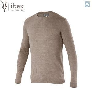 アイベックス ibex Ms カバーセーター レイヘザー ウール 送料無料|aandfshop