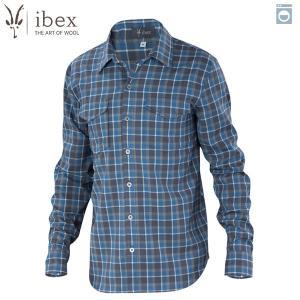 アイベックス ibex Ms ブロメリーシャツ クアリープレイド ウール 送料無料|aandfshop