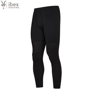 アイベックス ibex Ms ウーリーズ1ボトム ナイロンコアモデル ブラック ウール 送料無料 aandfshop
