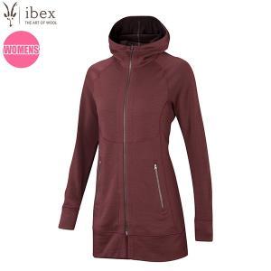 アイベックス ibex Ws ダイヤードロングセーター ナパ/ヘナ 女性用 ウール|aandfshop