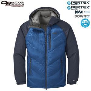 SALE アウトドアリサーチ メンズ アルパインダウンフーデットジャケット コバルトナバルブルー OUTDOOR RESEARCH|aandfshop