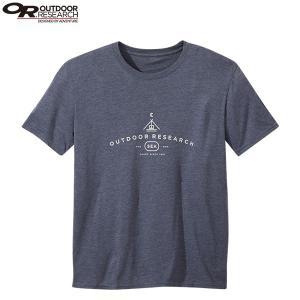 アウトドアリサーチ OUTDOOR RESEARCH メンズ ジェイディTシャツ スティールブルー|aandfshop