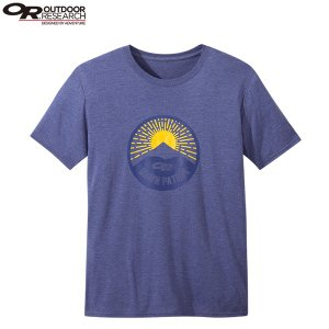 アウトドアリサーチ OUTDOOR RESEARCH メンズ ダーンパトロールTシャツ コバルト|aandfshop