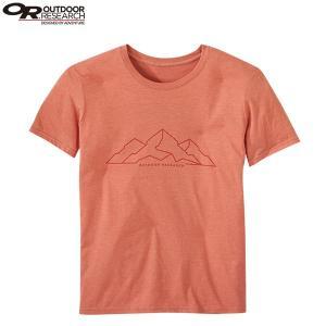 アウトドアリサーチ OUTDOOR RESEARCH Ms ピークスTシャツ バーントオレンジ SALE|aandfshop