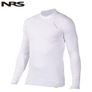 NRS Ms H2Core ラッシュガードロングスリーブ ホワイト|aandfshop