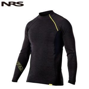 NRS Ms ハイドロスキン0.5 ロングスリーブシャツ チャコールヘザー 送料無料|aandfshop