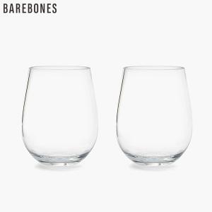 ベアボーンズ ワイングラス 2個セット Barebones aandfshop