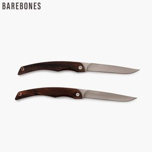 ベアボーンズ ステーキナイフ 2個セット Barebones aandfshop