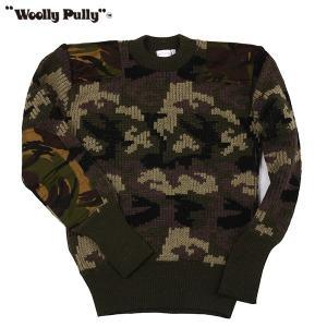 Woolly Pully ウーリープーリー コマンドセーター カモフラージュ 送料無料|aandfshop