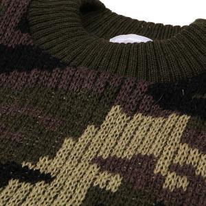 Woolly Pully ウーリープーリー コマンドセーター カモフラージュ 送料無料|aandfshop|05