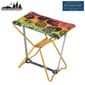 アディロンダック Adirondack × ペンドルトン PENDLETON マイクロチェア GD シュガースカル|aandfshop
