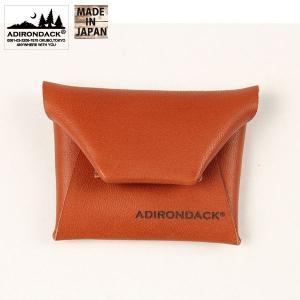アディロンダック Adirondack コインケース ブラウン Sサイズ エイアンドエフオリジナル商品|aandfshop