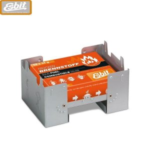 アウトドア Esbitエスビット ポケットストーブ ラージ固形燃料14g×12個付 ES00289000の商品画像|ナビ