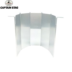 CAPTAIN STAG(キャプテンスタッグ)アルミウインドスクリーン / UF-12【風防】|aarck-yast