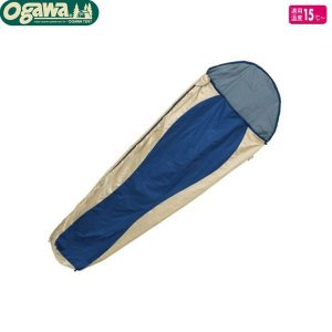 小川キャンパル(OGAWA CAMPAL)コンパクトシュラフUL / 1072<適用温度15℃> 【マミー型寝袋・シュラフ】|aarck-yast