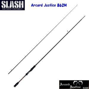 SLASH(スラッシュ)Arcard Justice 862M 2pcs / アーカード ジャスティス 【2ピースエギングロッド】|aarck-yast