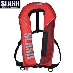 SLASH(スラッシュ)AUTO INFLATABLE LIFE JACKET(RD)/自動膨張式ライフジャケット(レッド)|aarck-yast