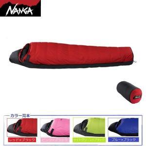 NANGA(ナンガ)オーロラ600DX(760FP)レギュラーサイズ(レッド×ブラック) / AURORA 600DX<適用温度-14℃> 【マミー型寝袋・ダウンシュラフ】|aarck-yast