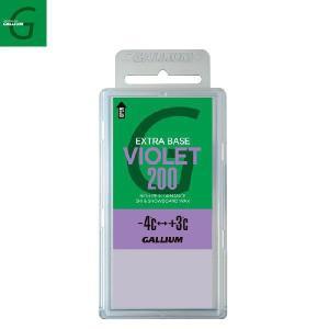 GALLIUM(ガリウム)ベースワックス(バイオレット)200g / SW2079 / EXTRA BASE WAX (VIOLET) / 【ホットワクシング】 aarck-yast