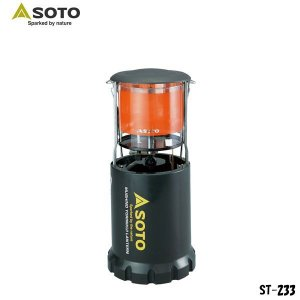 SOTO(新富士バーナー)虫の寄りにくいフォールディングランタン / ST-233 【CB缶ガス式】|aarck-yast
