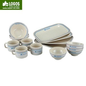 LOGOS(ロゴス)ディナーウェア17点セット/81285001【食器セット】|aarck-yast
