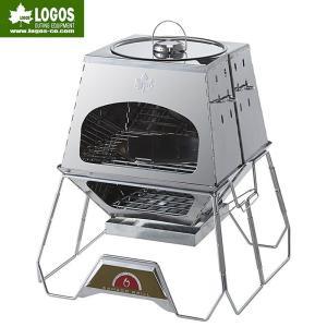 LOGOS(ロゴス)LOGOS the KAMADO / 81064150 【カマド】【ピザ釜】【ダッチオーブン料理】|aarck-yast