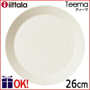 【正規輸入品】iittala (イッタラ) Teema (ティーマ) プレート ホワイト 26cmの商品画像 ナビ