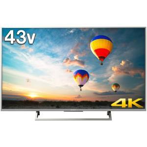 ソニー 43V型 液晶 テレビ ブラビア KJ-43X8000E S 4K Android TV 外...