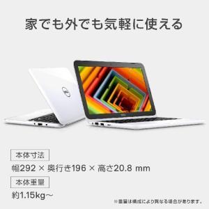 Dell ノートパソコン Inspiron 11 3180 MI21Y9WL (11.6インチ/eM...