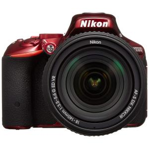 ニコン(Nikon) D5500 18-140 VR レンズキット [レッド] デジタル一眼レフカメ...