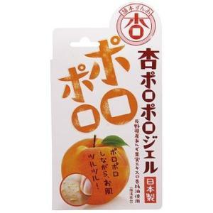 杏ぽろぽろジェル 100g 首回り、胸元、顔の「ポツポツ、ザラザラ」に国産の杏エキスで円を描くように...