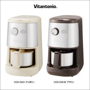 ■【品番/カラー】VCD-200-B/ブラウン、VCD-200-I/アイボリー ■【電源】AC100...