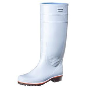 弘進ゴム 長靴(P.V.C製) ザクタス Z-01 白 25.5cm C0140AAの商品画像|ナビ