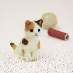 ハマナカ アクレーヌでつくる 三毛猫 H441-486の商品画像 ナビ