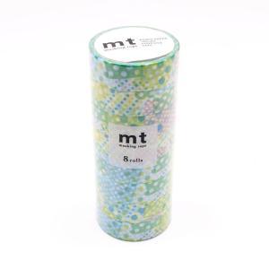 ランダムなドットがお洒落。 生産国:日本 素材・材質:和紙 商品サイズ:テープサイズ:15mm×10...