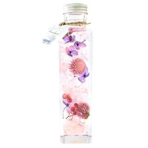 風水ハーバリウム ピンク/恋愛運 D30020M ピンク系 プレゼント プリザーブドフラワーの商品画像 ナビ