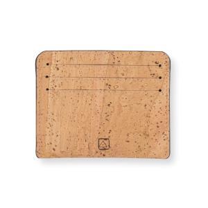 カードケース ナチュラルカラー コルク製 ビーガン 一年保証 aasha-shop