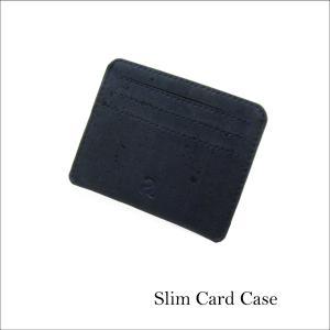カードケース 青 コルク製 ビーガン 一年保証 aasha-shop